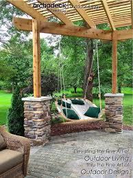 furniturewinsome landscape lighting ideas outdoor. outdoor swing hangs from cedar pergola des moines clive design ideas furniturewinsome landscape lighting a