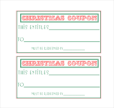 Coupon Template Free Printable