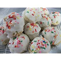 Auntie mella's italian soft anise cookies. Amazon Com Italian Anise Cookies 2 Dz An Italian Classic Cookies Made To Order Everything Else