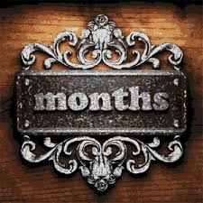 Image result for Four months word