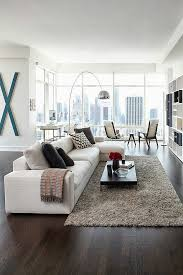 apartment living room rug. Modern Apartment Living Room Ideas With Comfort Rug And Sofa Completed Fresh Window