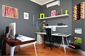 compact office furniture small spaces. Creative Home Office In Small Spaces With 2 Computer Desks And Compact Furniture R