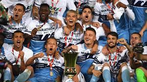 Lazio win Coppa Italia