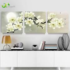 >3 panel orchid flowers wall art pictures wall flower canvas painting  3 panel orchid flowers wall art pictures wall flower canvas painting for living room home decoration