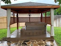 hot tub decks in san antonio j r s