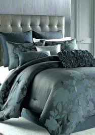 nicole miller home white comforter set duvet bedding flannel silk cover striped covers all duv