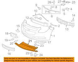 chevrolet gm oem front bumper grille under radiator splash shield gm parts direct discount code at Gm Oem Parts Diagram
