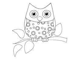 Cute Owl Coloring Page The Most Free Printable Pages Vfbi Intended