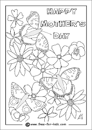 Small Picture Mothers Day Colouring Sheets