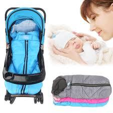 3 of 7 baby stroller fleece sleeping bag sleepsack fashion foot for car seat pram