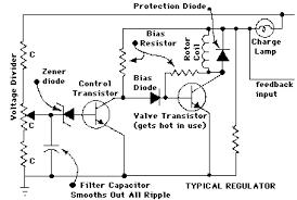 alternator secrets Delco Alternator Wiring Diagram schematic of typical regulator