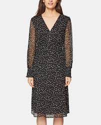 Esprit <b>women's</b> polka dot <b>print chiffon dress</b> · Esprit · Fashion · El ...