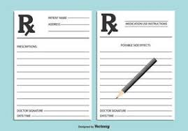 doctor prescription pad prescription pad vector download free vector art stock graphics