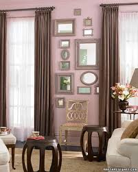 Mirror grouping on wall Living Room Grouping Mirrors Howto Martha Stewart Grouping Mirrors Howto Martha Stewart