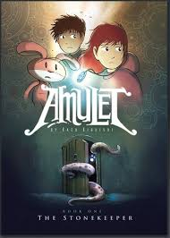 the amulet graphic novel series remains a bestseller in our library