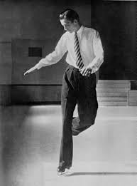 the joy of figures all about work british skater graham sharp 1939 world champion practicing figures if only we could