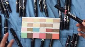 Prismacolor Brush Tip Markers Portrait Set Review Pt 2 Youtube