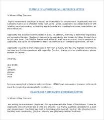 Personal Reference Letter Template 12 Free Word Pdf Documents