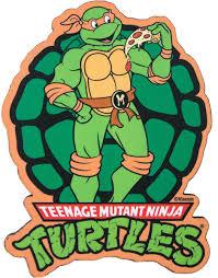 ninja turtles michelangelo. Simple Ninja Teenage Mutant Ninja Turtles  Michelangelo Magnet In L