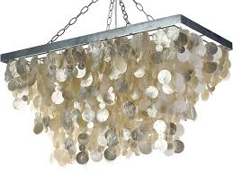 capiz chandeliers seas in various shapes and for any room rectangular chandelier with shade drumals modern