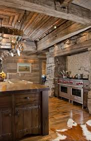 Image Kitchen Cabinets Pearsons Design Group Rustic Kitchen Canadian Log Homes Rustic Kitchens Design Ideas Tips Inspiration