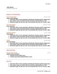 Origin Resumes Chronological Resume Definition Format Layout 103 Examples