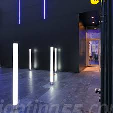 Bollard Lights Led Picture Of Exterior Black Mini Mm Bollard - Exterior bollard lighting
