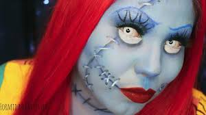 nightmare before sally makeup tutorial 31 days of