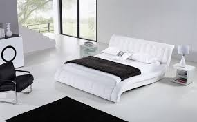 25 White Bed Frame in Various Type Size and Style Sadecor