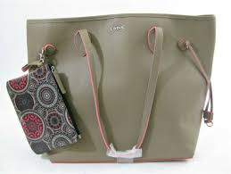 lodis bliss brand purse with wristlet taupe colored brand new