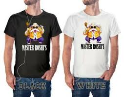 Details About Dragon Ball Z Master Roshis Dojo Anime T Shirt S 3xl Size Black White Em3