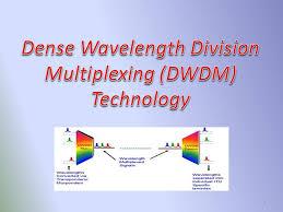 Dwdm Wavelengths Chart Dense Wavelength Division Multiplexing Dwdm Technology