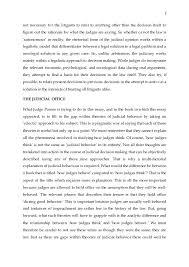 richard posner on theories of judicial behavior 3