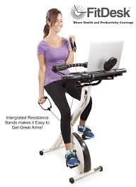 the resistance bands allow you to tone your arms and shoulders while you cycle