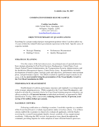 Hybrid Resume Template Combined Sample For Skills Financial An