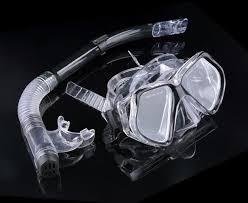 Силиконовая маска для <b>подводного плавания Набор</b> очков для ...