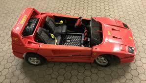 Ferrari F40 Ride On Toy Eletrical Child Car Kinder Elektro Auto Ital Spares