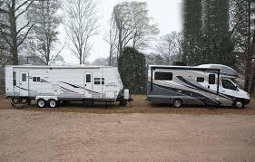 winnebagolife motorhome vs travel trailer