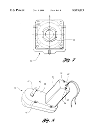 patent us5829819 electric tarp system for truck bed google patents patent drawing