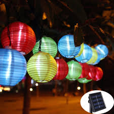 decorative solar lighting. Lantern Ball Solar String Lights 20 LED Lamp Outdoor Lighting For New Year Christmas Decorative Birthday Party Holiday-in From O