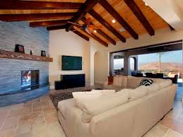 Wooden Ceiling Designs For Living Room Dark Ceiling Beams Open Ceiling Living Room With Exposed Beams