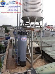 Lọc nước phèn giếng khoan ở Đông Thạnh, Hóc Môn