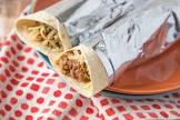 beefy bean burritos oamc