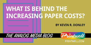 Line Paper Amazing What Is Behind The Increasing Paper Costs Printwell