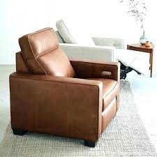 top brown recliner chair west elm leather power for rooms to go chairs designs living room rooms to go leather recliner