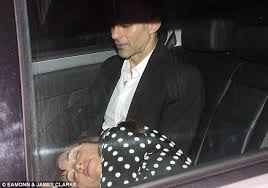 Club old-guard Ryan Giggs was pictured leaving the party along with wife  Stacey,