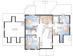 Possible InLaw Suite  2173DR  Architectural Designs  House PlansInlaw Suite