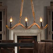 rustic industrial lighting. rustic 3light rope shaped wrought iron industrial pendant lighting fixtures s