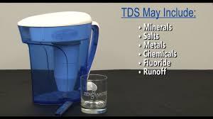 Zero Water Tds Chart Zerowater Vs Tap Water Tds Water Demo