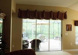 image of window treatment ideas for sliding glass doors design